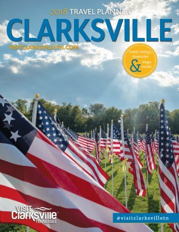 2018 Clarksville Tennessee Visitors Guide