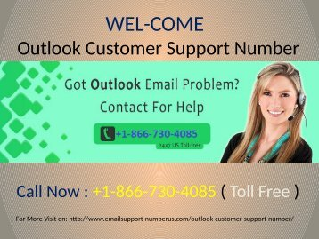 Outlook Technical Support Phone Number +1-866-730-4085
