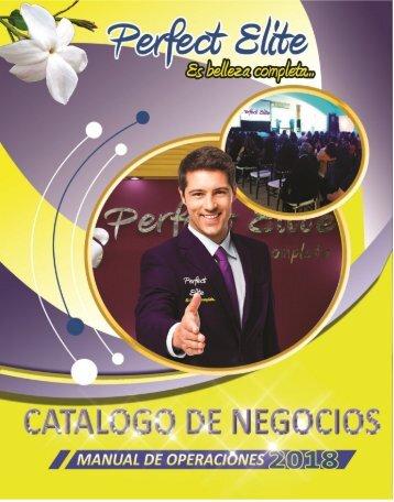 CATALOGO DE NEGOCIO PERFECT ELITE