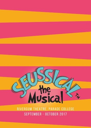 Seussical Program