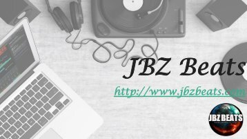 Buy Rap Beats Online at JBZ Beats with 3 different packages