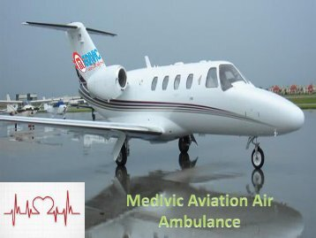 Find the Safest Air Ambulance from Kolkata with Medical Facility