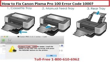 18002138289 to fix canon pixma pro 100 flashing light error codes