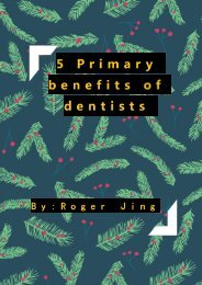 5 Primary benefits of dentists loupes