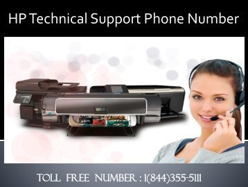 1(844)355-5111 HP Technical Support Phone Number