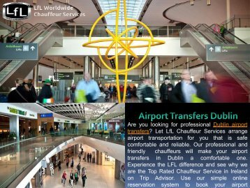 Airport Transfers Dublin