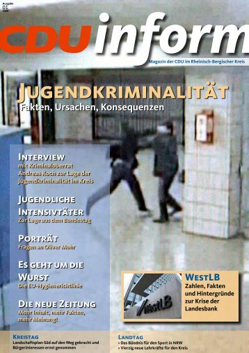 inform - CDU Rheinisch-Bergischer Kreis