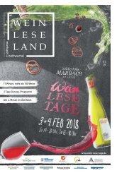 Wein Lese Land 1/2018 marbach + bottwartal