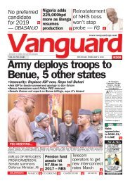 08022018 - Army deploys troops to Benue, 5 other states