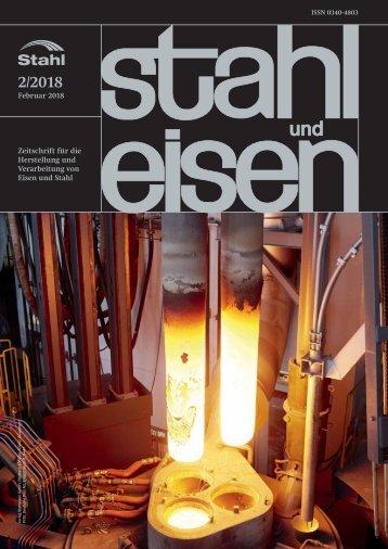 Leseprobe stahl und eisen 02/2018