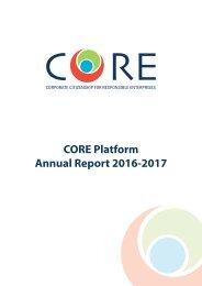 CORE Platform Annual Report 2016-2017