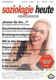 soziologie heute Februar 2013