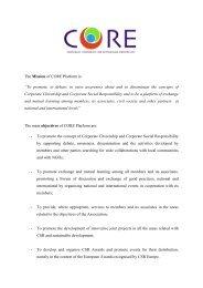 CORE Platform Leaflet