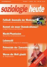 soziologie heute April 2009