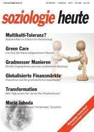 soziologie heute Juni 2009