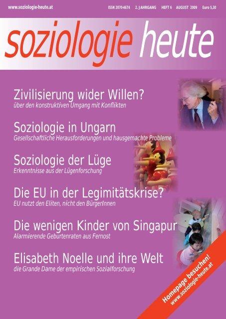 soziologie heute August 2009