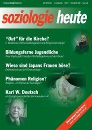 soziologie heute Oktober 2009