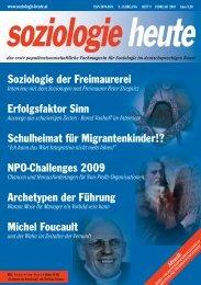 soziologie heute Februar 2010