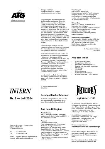 Juli 2004 - Aggertal-Gymnasium