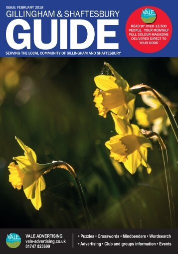 Gillingham & Shaftesbury Guide February 2018