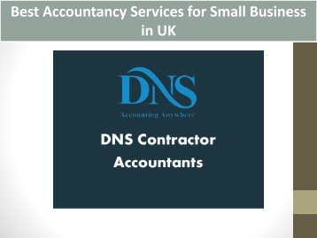 Best Accountancy Services for Small Business in UK