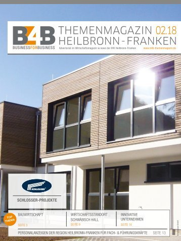 BAUWIRTSCHAFT | B4B Themenmagazin 02.2018