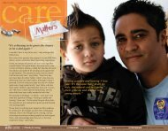 Issue 18 - October 2008 (PDF 2.66MB) - Child, Youth and Family