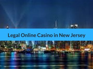 Legal Online Casino in New Jersey