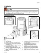 332301D G3 Pro Automatic Lubrication Pump, Instructions, German - Page 7