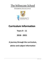 Y8 Options Booklet
