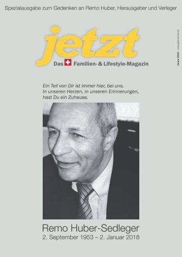 Jetzt – Das Schweizer Familien- & Lifestyle Magazin – Januar 2018 – Zum Gedenken