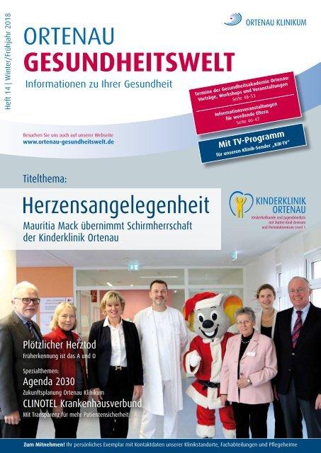 Ortenau Gesundheitswelt - Patientenzeitschrift #14