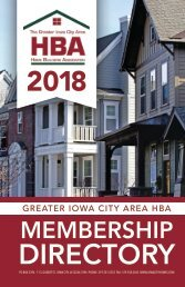 IC HBA Directory2018