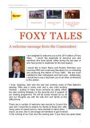 Foxy Tales March 2014