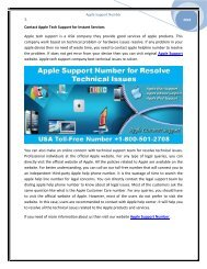Now Call @ +1-800-501-2708 Apple Support for Instant Services