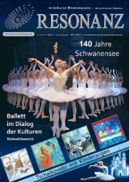 RESONANZ INTERKULTUR WISSENSMAGAZIN 12|2016