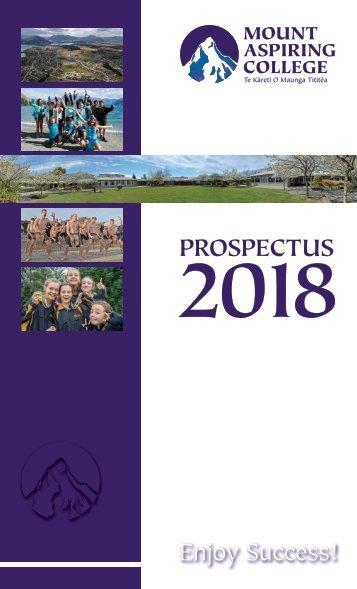 MAC Prospectus 2018