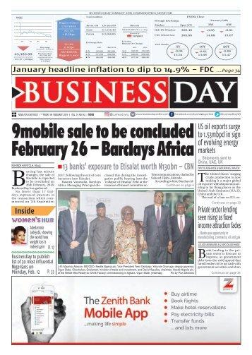 BusinessDay 09 Feb 2018