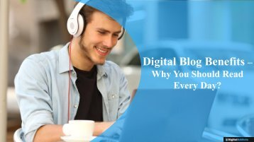 Why You Should Be Reading a Digital News Blog?
