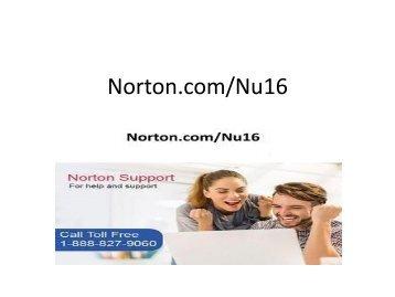 norton.com/nu16 - norton utilities nu16