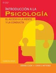 Introduccion a la psicologia el acceso a la mente y la conducta