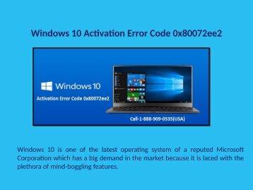 18889090535 Fix Windows 10 Activation Error 0x80072ee2