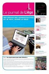Votre Journal de Liège du mois de février 2018