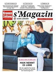 s'Magazin usm Ländle, 11. Februar 2018