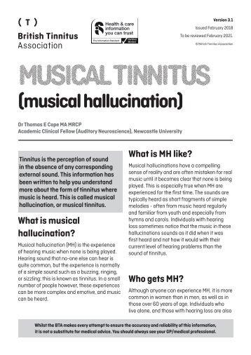 Musical hallucination Ver 3.1