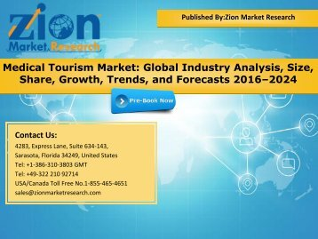 Global Medical Tourism Market, 2016 – 2024