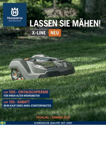2018 Husqvarna Frühling Sommer Prospekt