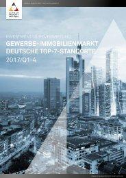GPP Marktbericht 2017/Q1-4 Investment/Bürovermietung