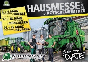 HAUSMESSE - KOTSCHENREUTHER 2018 (Land)
