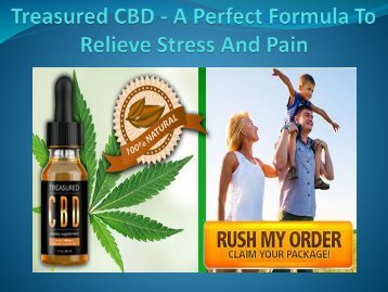 Treasured CBD - Help To Reduce Anxiety & Pain